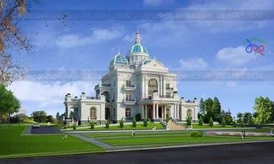 Mẫu thiết kế lâu đài Ninh Bình