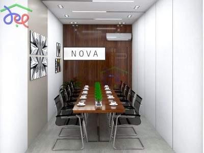 Mẫu thiết kế nội thất Công ty Dược phẩm NOVA