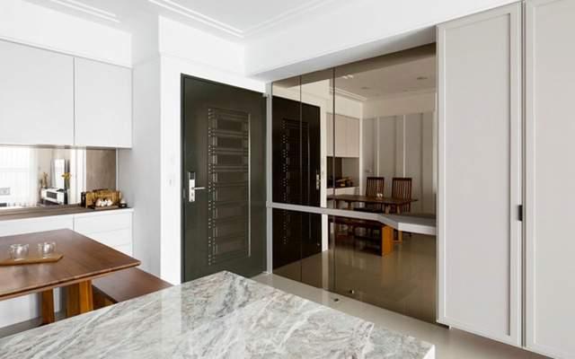Mẫu thiết kế nội thất chung cư kết hợp giữa sở thích và phong cách