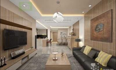 Mẫu thiết kế nội thất chung cư cao cấp diện tích 119m2