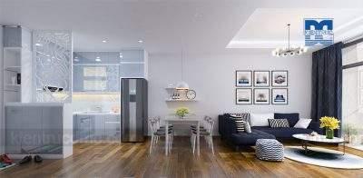 Mẫu thiết kế nội thất chung cư diện tích 72m2
