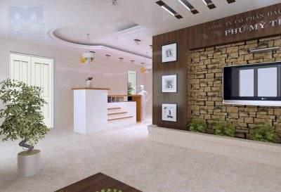 Mẫu thiết kế nội thất văn phòng công ty Phú Mỹ Thành