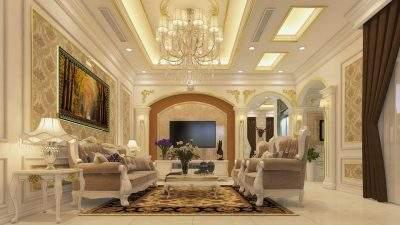 Mẫu thiết kế nội thất nhà phố 5,5 tầng phong cách tân cổ điển