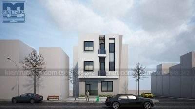 Mẫu thiết kế nhà phố 3 tầng 2 mặt tiền trên diện tích 60m2