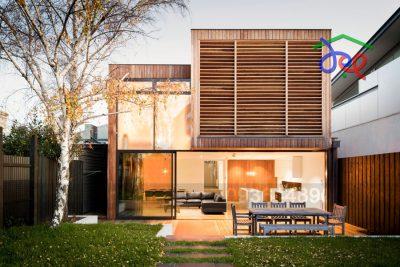 Mẫu thiết kế nhà phố 2 tầng phong cách hiện đại trên diện tích 260m2