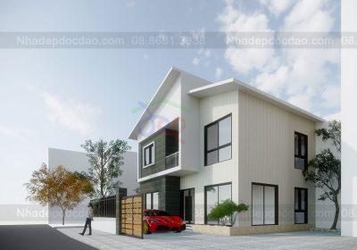 Mẫu thiết kế nhà phố 3 tầng trên diện tích 97m2
