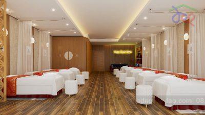 Mẫu thiết kế nội thất văn phòng Mai Loan Spa
