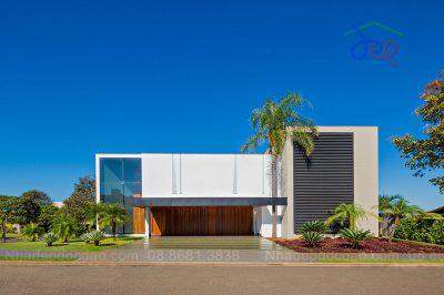 Mẫu thiết kế biệt thự phong cách hiện đại diện tích 540m2