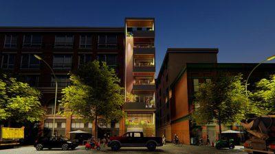 Mẫu thiết kế nhà phố 6 tầng trên diện tích 50m2