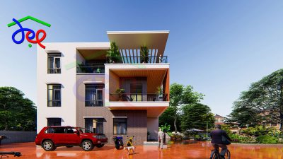 Mẫu thiết kế cải tạo biệt thự 3 tầng trên diện tích 1000m2