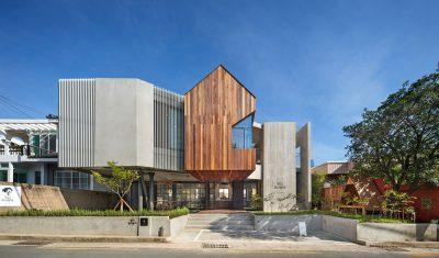 Mẫu thiết kế nhà ở kết hợp kinh doanh 3 tầng trên diện tích 299m2