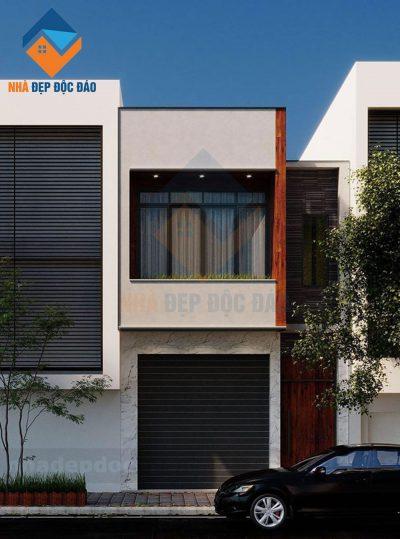 Mẫu thiết kế nhà phố 2 tầng trên diện tích 90m2