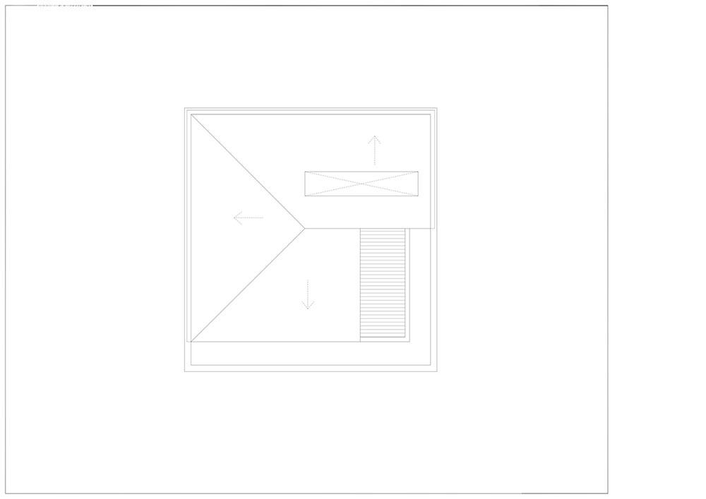 Mẫu thiết kế nhà phố 3 tầng hình vuông tránh nắng hướng Tây
