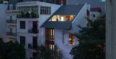 Mẫu thiết kế cải tạo nhà phố 5 tầng trên diện tích 90m2 phong cách độc đáo