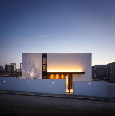 Mẫu thiết kế biệt thự 2 tầng phong cách Địa trung hải trên diện tích 450m2