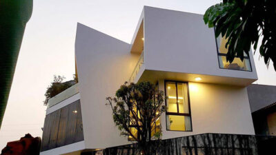 Mẫu thiết kế nhà ở kết hợp kinh doanh 3 tầng trên diện tích 150m2