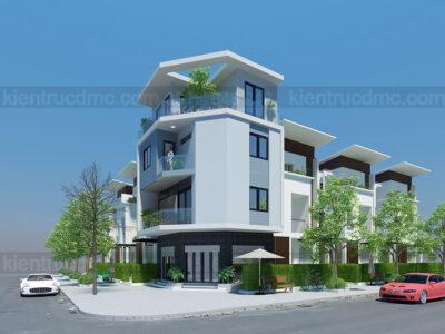 Mẫu thiết kế nhà ở kết hợp kinh doanh trên diện tích 60m2